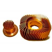 Buy cheap Anodized LED Copper Heat Sink Precision Plated Nickel Surface from wholesalers