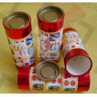 Buy cheap Recycle Paper Canister Packaging / Round Gift Boxes With Lids from wholesalers