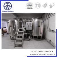 Buy cheap 500L Alcohol Craft Beer Brewing Equipment Polyurethane rockwool Insulation from wholesalers