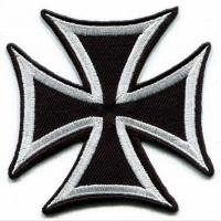 Buy cheap German Iron Cross Military Sew On War Biker Iron-on Applique Patch from wholesalers