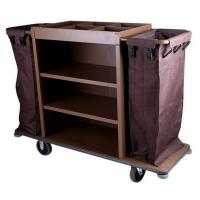 Buy cheap 6 PVC Wheel Brown Assembling Restaurant Supply Equipment For Hotel from wholesalers