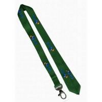 Buy cheap flat polyster neck lanyard with reflective string(neck strap,keychain,mobile phone) from wholesalers