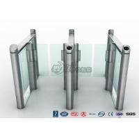 Buy cheap Stylish Optical Speed Gate Turnstile Bi - Directional Pedestrian Queuing Systems Entry Barriers product
