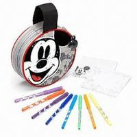 Buy cheap Mickey Faces Circular Marker Case, Measures Ø19 x 7cm from wholesalers