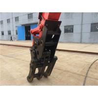 China Hydraulic Driven Log Loader Grapple / High Efficiency Excavator Rotating Grapple on sale
