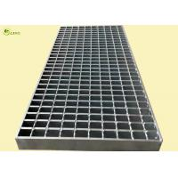Buy cheap Sheet Metal Steel Bar Bridge Deck Drain Plate Galvanized Pool Grid Grill Cover from wholesalers