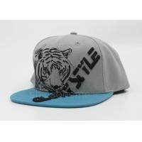 Buy cheap Cool Printed Gray Sun Baseball Cap Snapback Adjustable For Party from wholesalers