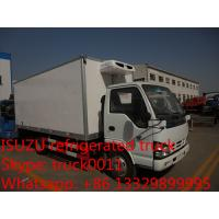 Buy cheap 3-5ton refrigerated truck for sale from wholesalers