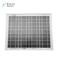 Small size mono crystal solar panel 10 watt silver frames for Affordable solar frames