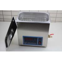 Buy cheap Silent SU304 Stainless Steeel Dental Ultrasonic Cleaner For Hospital 5L capacity from wholesalers