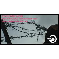 Buy cheap 12x14 Galvnaized Barbed Iron Wire  from wholesalers
