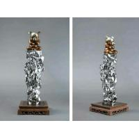 Buy cheap stainless steel sculpture for artist ,mirror finish ,China stainless steel Sculpture supplier from wholesalers