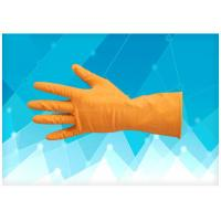 Buy cheap Non Powdered Surgical Hand Gloves Strong Abrasion Resistance Strong Tolerance from wholesalers