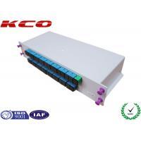 SC Adapter Fiber Optic Splitter 1X32 , Optical Power Splitter GPON
