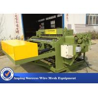Buy cheap Automatic Welded Wire Mesh Machine Adopts Electrical Synchronous Control Technique from wholesalers