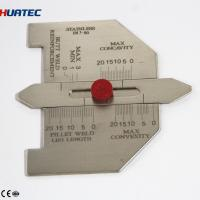 Buy cheap Automatic Weld Size Weld Gage Cambridge Type Weld Gauge  Welding Gauge Series Taper gauge from wholesalers