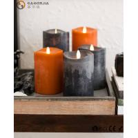 Buy cheap Beautiful Autumn Colors Flameless Led Candles Paraffin Wax Materials FL-048 product