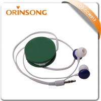 Buy cheap hot selling in-ear stereo retractable earphone from wholesalers