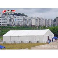 Buy cheap High Capacity Modern Wedding Marquee Tent With Transparent Window Rain Proof from wholesalers