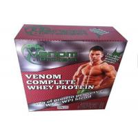 Buy cheap Whey Protein Packaging Paper Square Box / Pharma Box Embossing And Debossing Finish from wholesalers