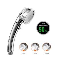 Buy cheap JK-2800 China sanitary ware factory supply three functions high water pressure hand shower chorme plated from wholesalers