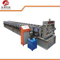Buy cheap Galvanized Steel Floor Deck Roll Forming Machine With Hydraulic Uncoiler Machine from wholesalers