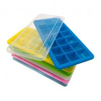 Buy cheap Ball Silicone Ice Cube Molds , Personalized Ice Cube Trays Large Square from wholesalers
