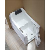 Buy cheap 4mm Thickness Acrylic Safe Step Walk In Tub With High Backrest One Side Open from wholesalers