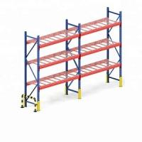 Buy cheap Q235 Steel Warehouse Rack System , Heavy Metal Storage Shelves from wholesalers