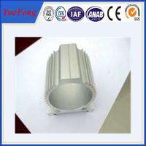 Buy cheap Anodizing/ Powder Coated treatment Electric Motor Shell Aluminum Profiles product