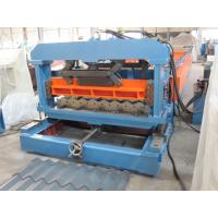 Metal Glazed Tile Roll Forming Machine  with CE Certificate Automatic Cutting