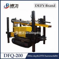 Buy cheap Defy DFQ-200 Hydraulic DTH Hammer Shallow Water Well Bore Hole Drilling Machine Price from wholesalers