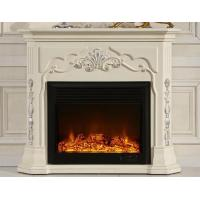 Buy cheap White European Electric Fireplace Decorative Freestanding Electric Fireplace from wholesalers