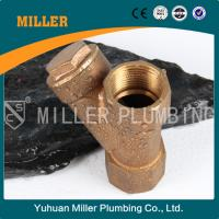 Buy cheap trade assurance Y type female bronze filter / strainer  ML-1507 from wholesalers