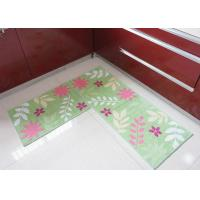 Buy cheap Skidproof comfortable soft Environmental non slip bath mat , washable kitchen rugs from wholesalers