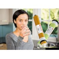 Buy cheap 100 GPD Dry Ro Membrane Replacement, Reverse Osmosis Cartridge 96-98% Stable Rejection from wholesalers
