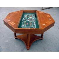 Buy cheap 4 In 1 Casino Game Table For Club , Poker Dining Table With Veneer Roulette from wholesalers