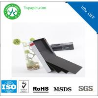 Buy cheap high quality 1200gsm drawing black kraft paper roll from wholesalers