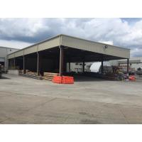 Buy cheap Extra Warehouse Steel Structure For Stocking With Normal Paint Plus Color Steel Panels from wholesalers