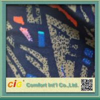 Buy cheap Colorful Washable Polyester Velour Jacquard Car Seat Upholstery Fabric for Automotive / Sofa from wholesalers
