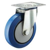 Buy cheap Elastic rubber castor wheels from wholesalers