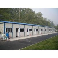 Buy cheap Ready Made House Prefabricated Steel Structures Sandwich Panel Workers Dormitory from wholesalers