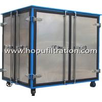 Buy cheap Fully Aluminum Alloy Closed Doors Transformer Oil Purifier machine from wholesalers