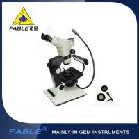 Buy cheap Generation 6th Swing arm type Gem Microscope F06 F08 Trinocular lens from wholesalers