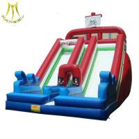 Buy cheap Hansel commercial grade indoor and outdoor amusement park inflatable play area for children manufacturer from wholesalers