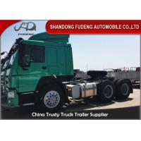 Buy cheap Left Hand Drive Tractor Head Trucks Low Roof Cabin 371HP 6 * 4 Type from wholesalers
