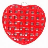 Buy cheap Cast Iron Trivet/Pot Holder with Designated Design and Coating from wholesalers