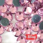 Buy cheap SS20 Hot-Fix Rhinestones Light Rose; Iron-On Diamond Beads from wholesalers
