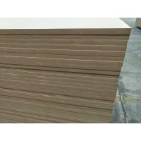 Buy cheap Plain MDF mdf	,furniture mdf board.kitchen,wardrobe board. 1220*2440mm from wholesalers