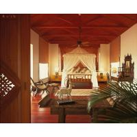 Buy cheap South East Asia Style Hotel Bedroom Furniture Sets With Custom Oak Veneer Holiday from wholesalers